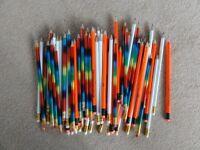 79 HB pencils....3 different designs