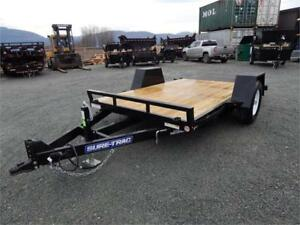 NEW 12' 7,000lb TILT SCISSOR MAN LIFT EQUIPMENT TRAILER