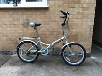 Mens City Folding Bike in Good Condition
