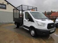 Ford Transit 2.2 Tdci 125Ps Caged Tipper DIESEL MANUAL WHITE (2015)