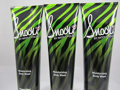 3 PACK- SNOOKI MOISTURIZING BODY WASH by SUPRE By Moisturizing Body Wash