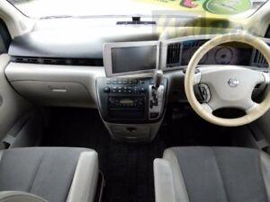 2003 Nissan Elgrand E51 Pearl White Automatic Wagon