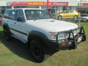 2000 Nissan Patrol GU II ST White 5 Speed Manual Wagon Kippa-ring Redcliffe Area Preview