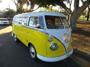 1965 Volkswagen Kombi CAMPER TYPE 2 Yellow 4 Speed Manual MICROBUS Concord Canada Bay Area Preview