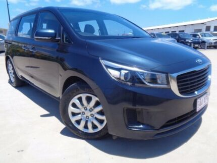 2015 Kia Carnival YP MY15 S Deep Blue 6 Speed Sports Automatic Wagon