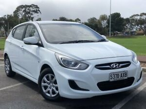 2012 Hyundai Accent RB Active White 4 Speed Sports Automatic Hatchback Nailsworth Prospect Area Preview