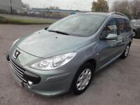 LHD 2006 PEUGEOT 307 SW (Estate) 1.6 PETROL 5 Door FRENCH REGISTERED