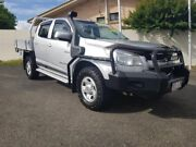 2013 Holden Colorado RG MY13 LX Crew Cab Silver 5 Speed Manual Cab Chassis Gympie Gympie Area Preview