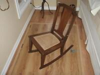 Small Antique Wooden Rocking Chair * REDUCED PRICE*