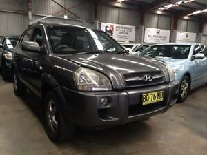 2007 Hyundai Tucson MY07 City SX 5 Speed Manual Wagon Macquarie Hills Lake Macquarie Area Preview