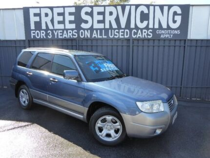 2007 Subaru Forester 79V MY08 X AWD Columbia Blue 5 Speed Manual Wagon Old Reynella Morphett Vale Area Preview