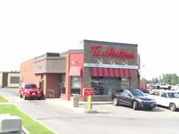 Full time Tim Hortons Team Member