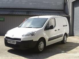 Peugeot Partner L2 716 1.6 92 CREW VAN EURO 5 DIESEL MANUAL WHITE (2012)
