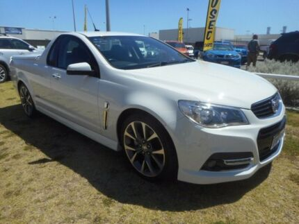 2013 Holden Ute VF MY14 SS V Ute White 6 Speed Sports Automatic Utility Rockingham Rockingham Area Preview