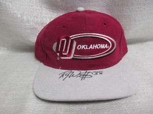Roy-Williams-Signed-Oklahoma-Sooners-Cap-Hat-Chargers-Dallas-Cowboys-JSA-J73113