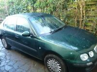ROVER 25 1.6 16V 5 DOOR 2002 MOT 8/17 PAS AC NEW ALTERNATOR 70000 MILES £395 ONO