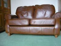 Leather 2 Seater Sofas Tan Leather From M&S