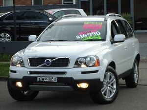 2011 Volvo XC90 MY11 D5 White 6 Speed Automatic Geartronic Wagon Clyde Parramatta Area Preview