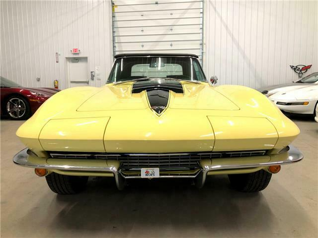 1967 Yellow Chevrolet Corvette   | C2 Corvette Photo 4
