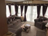 TATTERSHALL LAKES STUNNING 3 BEDROOM CARAVAN TO RENT,TOP OF RANGE HOT TUB,VERANDA,LARGE TV/DVD
