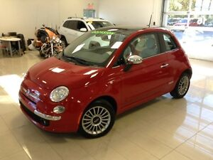 2015 FIAT 500 Lounge AUTO, TOIT OUVRANT, BLUETOOTH, MAGS