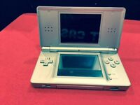 DS LITE SILVER WITH 12 MONTH WARRANTY THAT COVERS DS + CHARGER