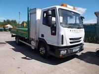 2009 (09) FORD EUROCARGO 75e16 FLATBED WITH STORAGE