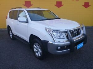 2013 Toyota Landcruiser Prado KDJ150R GXL White 5 Speed Sports Automatic Wagon Winnellie Darwin City Preview