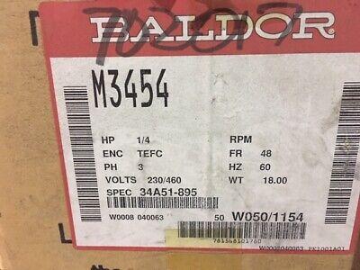 Baldor M3454 14 Hp