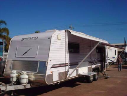 SPACELAND 26' CARAVAN WITH SHOWER AND TOILET TO CLEAR Bellevue Swan Area Preview
