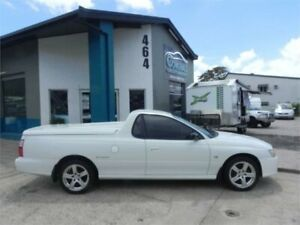 2005 Holden Commodore VZ Storm White 6 Speed Manual Utility Earlville Cairns City Preview