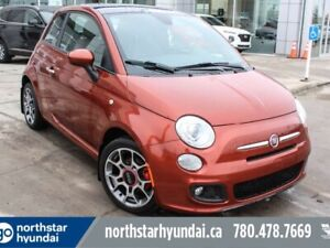 2012 Fiat 500 SPORT/SUNROOF/LEATHER/AUTOMATIC