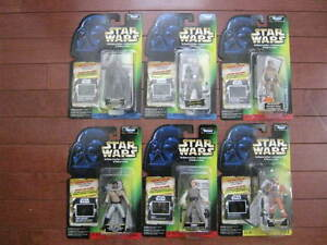 Assorted STAR WARS 4-Inch Action Figures , $10 Each, MIMP