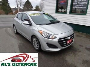 2016 Hyundai Elantra GT GL only $125 bi-weekly taxes in!