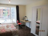 excellent ensuite and double room in ardwick