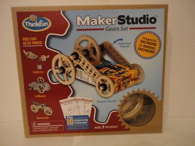 MAKER STUDIO Gears Set by ThinkFun
