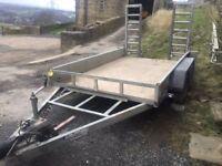 Plant trailer 3.5 ton no vat