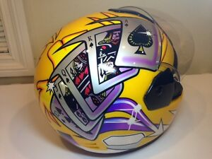 CUSTOM MOTORCYCLE HELMET (XL).....GIVE ME YOUR BEST OFFER
