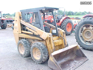 Wanted a wrecked case skid steer