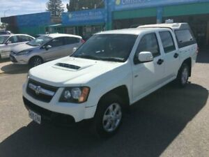 2009 Holden Colorado RC MY09 LX (4x2) White 5 Speed Manual Crew Cab Pickup Christies Beach Morphett Vale Area Preview