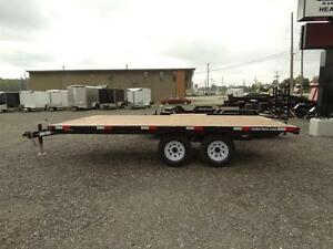 16' Flatdeck Trailer Kitchener / Waterloo Kitchener Area image 2