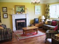 Three bedroon mid terrace cottage near Drumnadrochit, overlookin Loch Ness. Oil fired c/heating