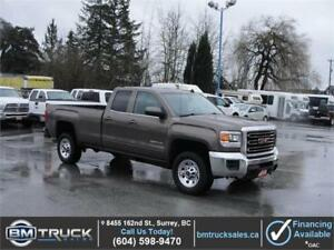 2015 GMC SIERRA 2500HD SLE DOUBLE CAB LONG BOX 4X4