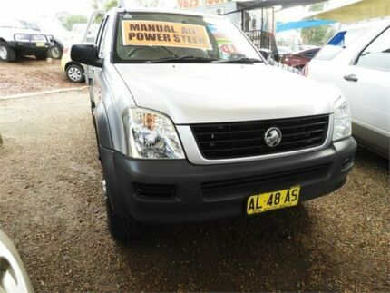 2006 Holden Rodeo RA MY06 LX Crew Cab 4x2 Silver 5 Speed Manual Utility Minchinbury Blacktown Area Preview