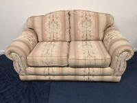 Two Seater Sofa, Armchair & Footstool (Matching Set)