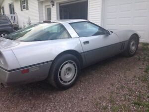 Selling a 1986 Chev Corvette.  Automatic, OR TRADE