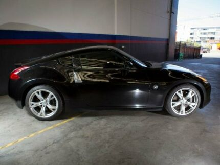 2012 Nissan 370Z Z34 Black Sports Automatic Coupe