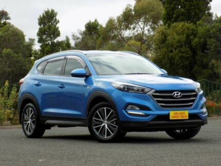 2015 Hyundai Tucson TL Active X 2WD Blue 6 Speed Sports Automatic Wagon Enfield Port Adelaide Area Preview