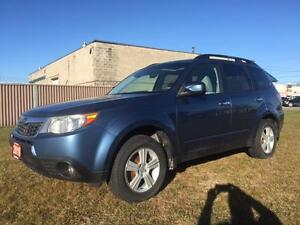 2010 Subaru Forester 2.5 AWD 5 spd $10995