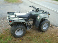 2001 honda trx250 recon 2whdr low hours
